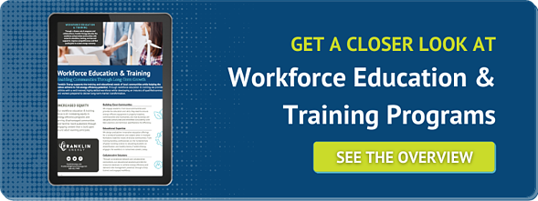 Get a Closer Look at Workforce Education and Training Programs - See the Overview